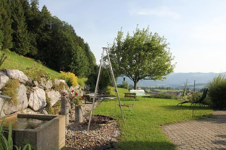 House with Panoramic View -Single Room Schweizberg