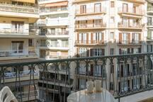balcony to enjoy your breakfast