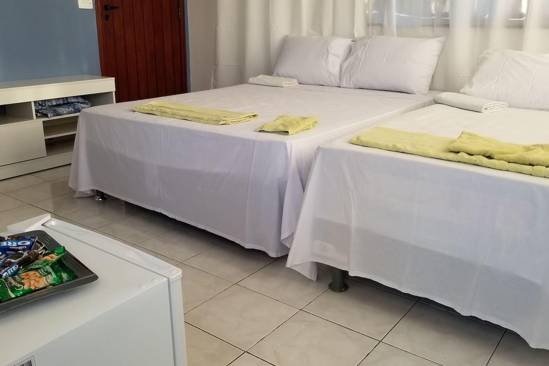 Bi-cama casal, Bi-cama solteiro - 5 pessoas