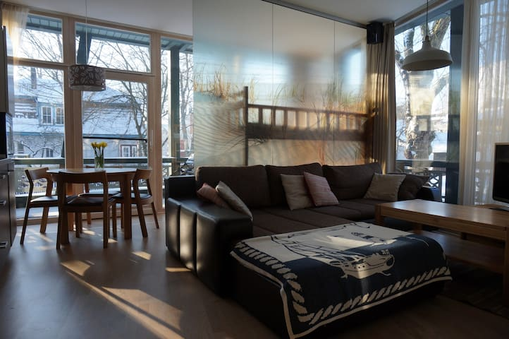 Exceptional Apart. with 2 terraces - Juodkrantė - Appartement