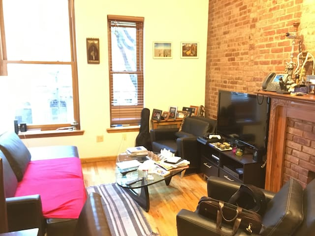 One bedroom with loft next to Central Park