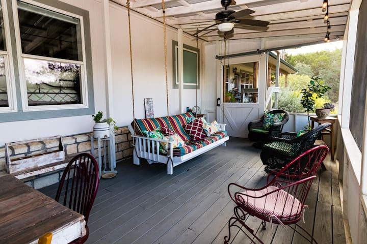 50 foot screened porch
