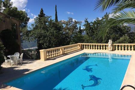 Magnifique Villa Provençale avec Piscine et Jardin - Castagniers - Villa