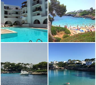 150 meters to the dream beach, new and clean flat! - Santanyí