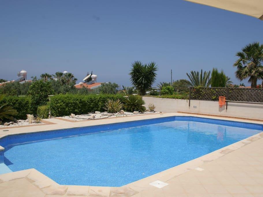 Pool 10 x 5 meters