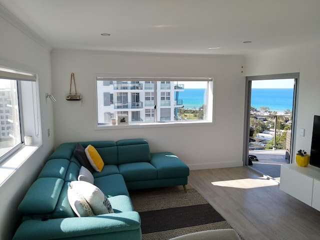 By the Beach - Beachfront unit with ocean views!