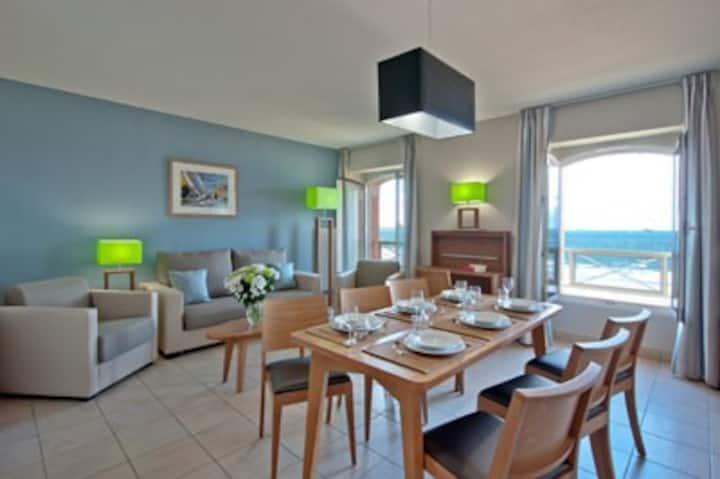 Appartement 55m² vue Mer en résidence ****