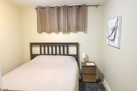 Private Room in Shared House (Basement Bedroom)