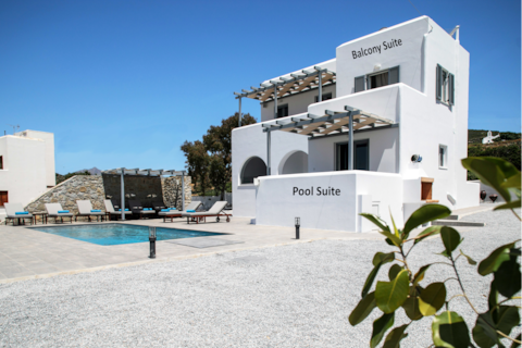 Naxos Infinity Villa Balcony Suite-8mins from port