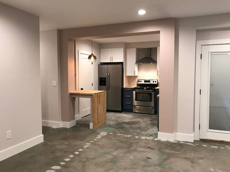 Brand New Kitchen and Pantry