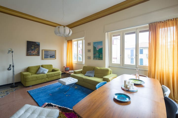 Large 3-bedroom for 5 persons in central Chiavari - Chiavari - Apartmen