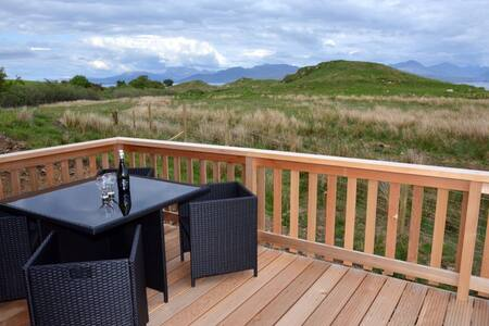 Beautiful lodge, great sea views - Isle of Skye - Blockhütte