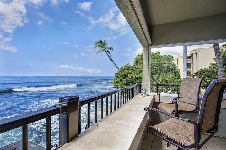 Banyan Tree 200A - Ocean Front, 2/2 - Kailua-Kona - Lejlighed
