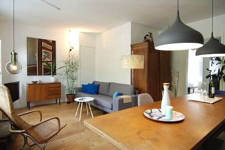 CHARMING A'dam west area apt. with balcony! - Ámsterdam - Departamento