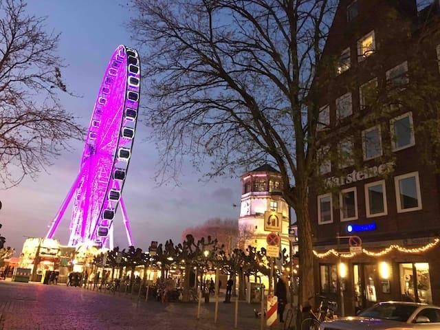 Rhein-Altstadt-Herz Düsseldorf