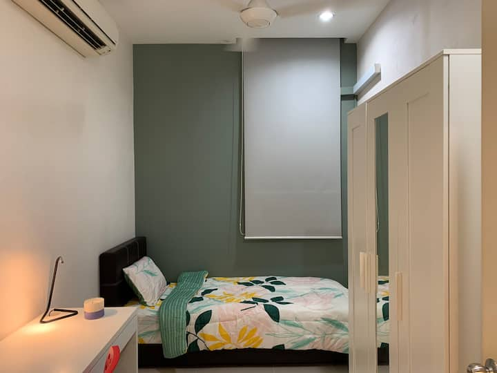 [Sanitized]Private Room. 2 min to Sunway Pyramid