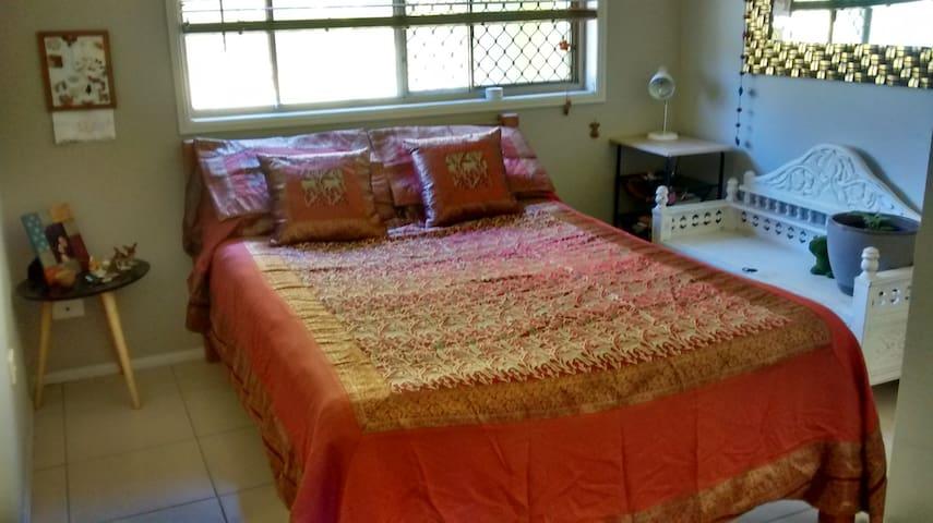 A comfy room.