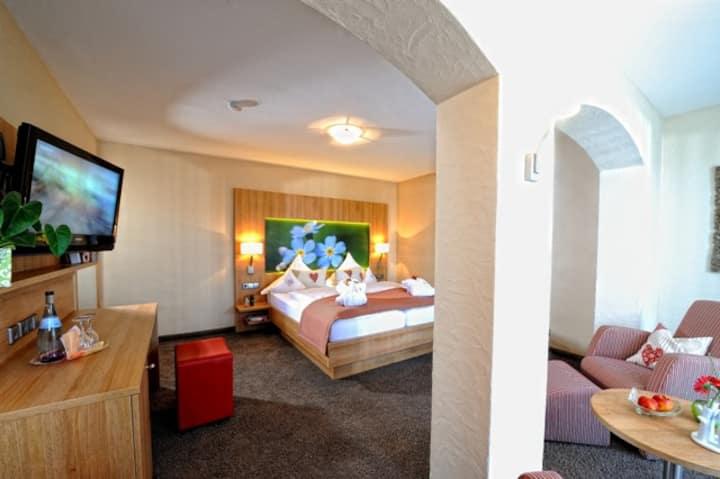 Landhotel Talblick (Neuweiler), Doppelzimmer Landliebe, 25-30qm, max. 2 Personen