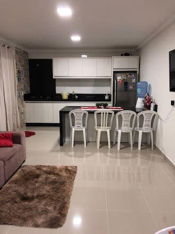 Casa para 4 pessoas na praia de Morrinhos