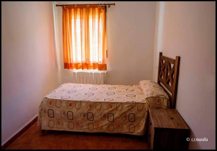 CASA RURAL LA MURALLA-habitación Andilla