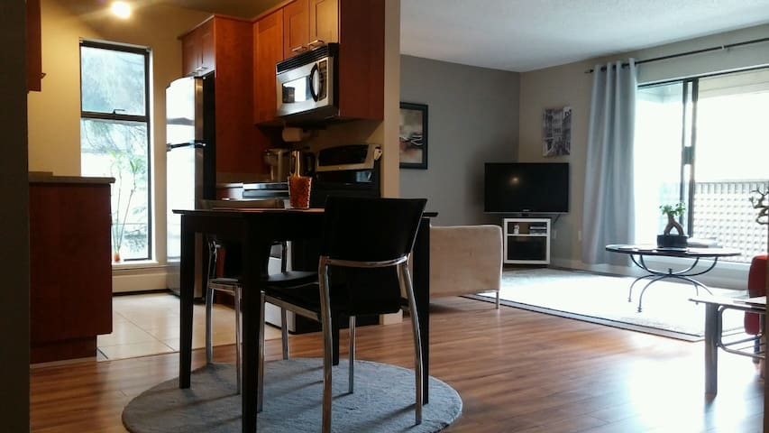 2 Bedrooms apt near Downtown New Westminster