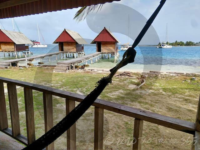 Private Cabin#1 on Island + Meals, San Blas Island