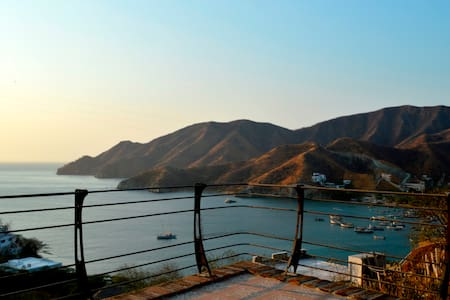 Beach House Ocean View + POOL in Taganga - Santa Marta-Taganga - Rumah