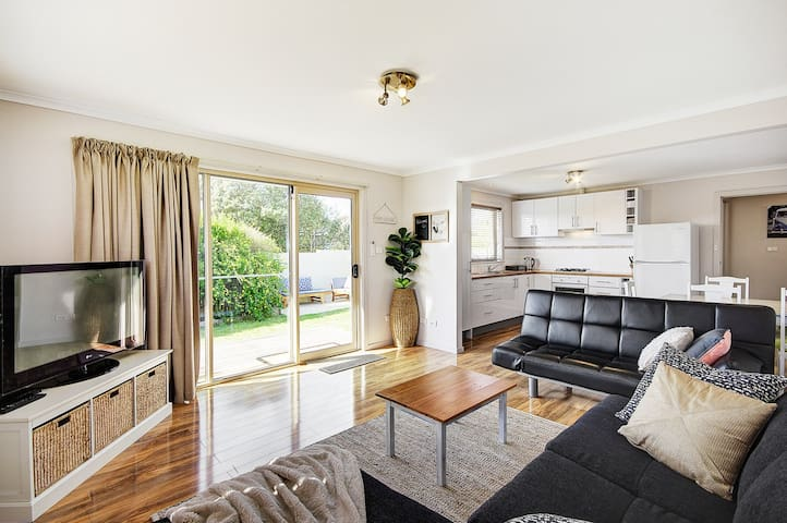 Great Ocean Grove Beach Break - Stylish 2 Bedrooms - Ocean Grove - Leilighet