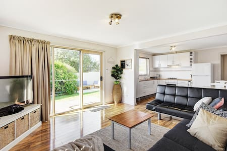 Great Ocean Grove Beach Break - Stylish 2 Bedrooms - Ocean Grove - Flat