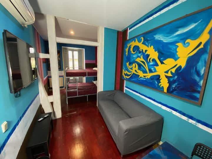 Habitación Cuádruple Deluxe con Terraza (Room 5)