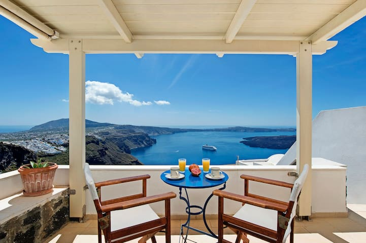 Heaven - Junior Suite with view - Imerovigli - Casa