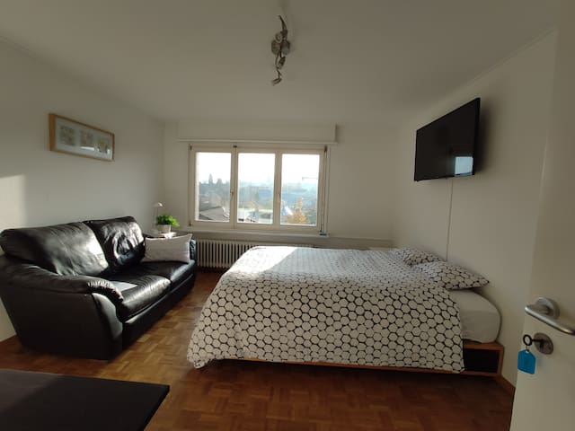 Room with private bathroom near Basel