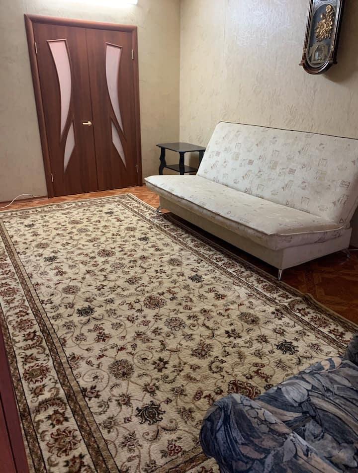 Уютная квартира в центре коммуникаций , ждёт вас