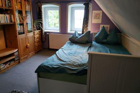 Cozy double room in German wineregion