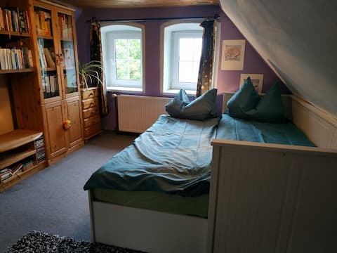 Cozy double room in German wineregion