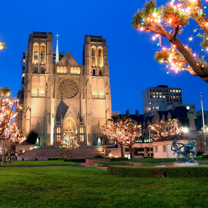 Photo of Grace Cathedral in SoMa