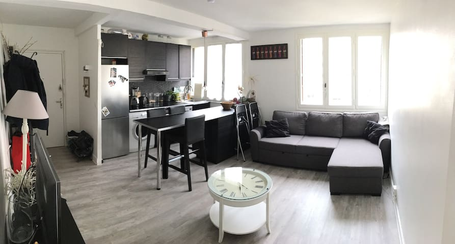 Appartement en plein coeur de paris + parking