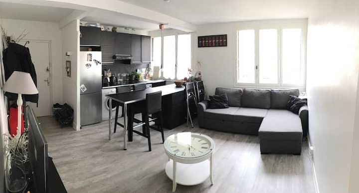 Appartement en plein coeur de paris + parking
