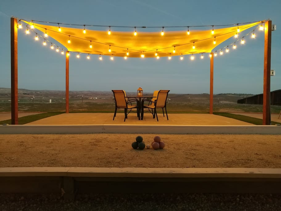 Situated high above the Paso Robles vineyards, the views are stunning!