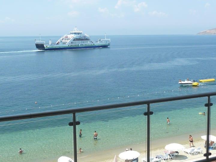 Balkonlu Panaromik Deniz Manzarali Cift Kisilik Deluxe Oda - Hotel Europa