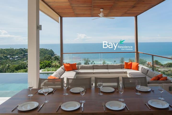 Enjoy dinner while taking in the spectacular view.