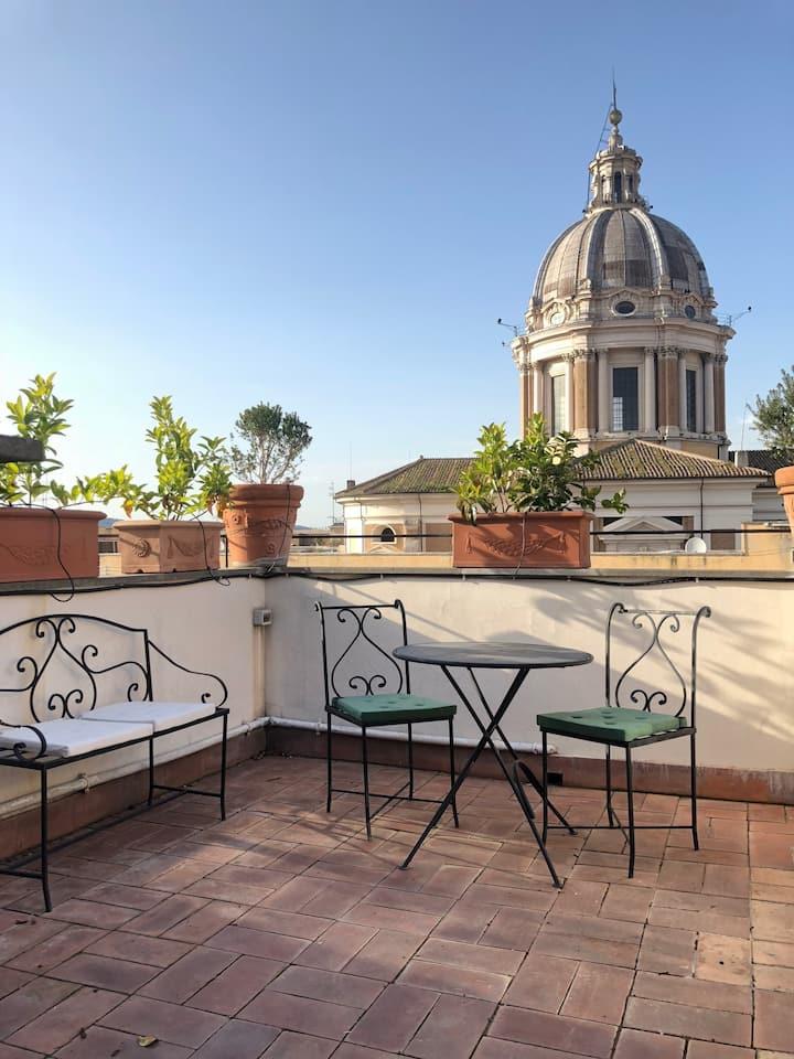Arancio Mini-Suite with panoramic terrace