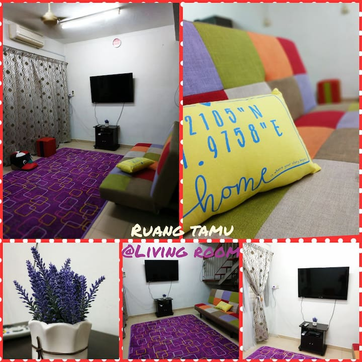 Cozy Cottage in Alor Setar for 10pax