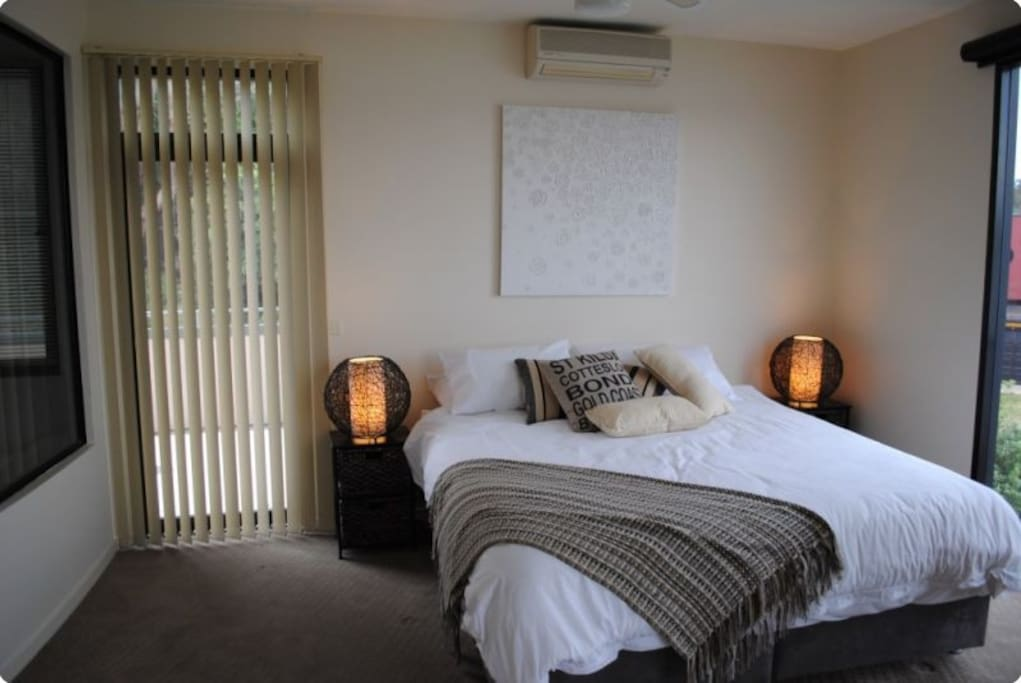 King Bedroom 1 with spa ensuite
