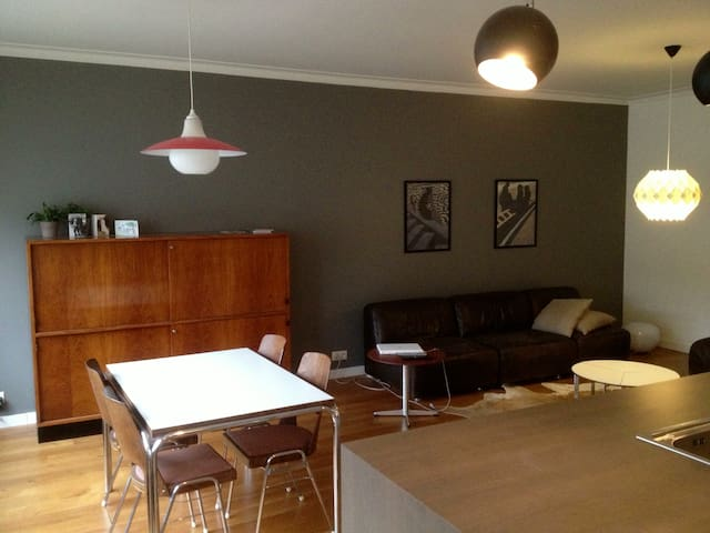 Spacious and bright apartment in Antwerp.