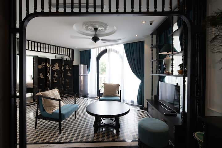 Indochine Style Apartment center Hanoi
