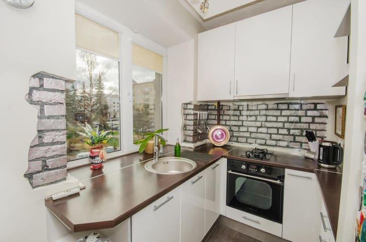 Квартира-студия в центре Минска - Minsk - Apartemen