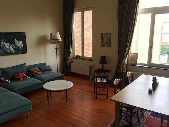 Appartement spacieux et idéalement situé