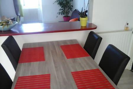 chambre spacieuse et simple - Apartment