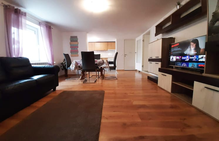 A cozy two bedroom apartment in Bad Abbach